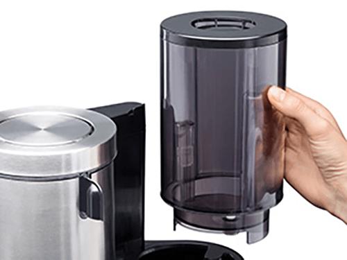 kaffeemaschine mit abnehmbaren wassertank