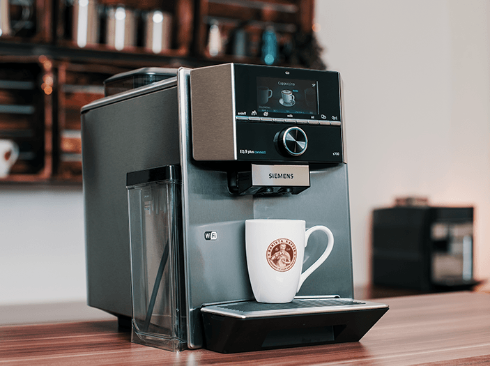 kaffeevollautomat siemens 2 mahlwerke
