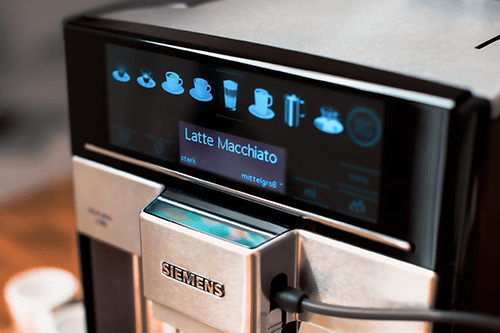 Bedienung Siemens Kaffeevollautomat