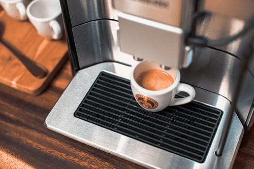 Espresso aus dem Siemens EQ6