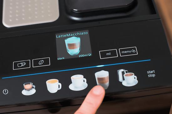 bedienung siemens integral kaffeevollautomat