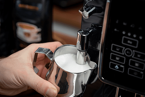 delonghi kaffeevollautomat milchaufschäumdüse